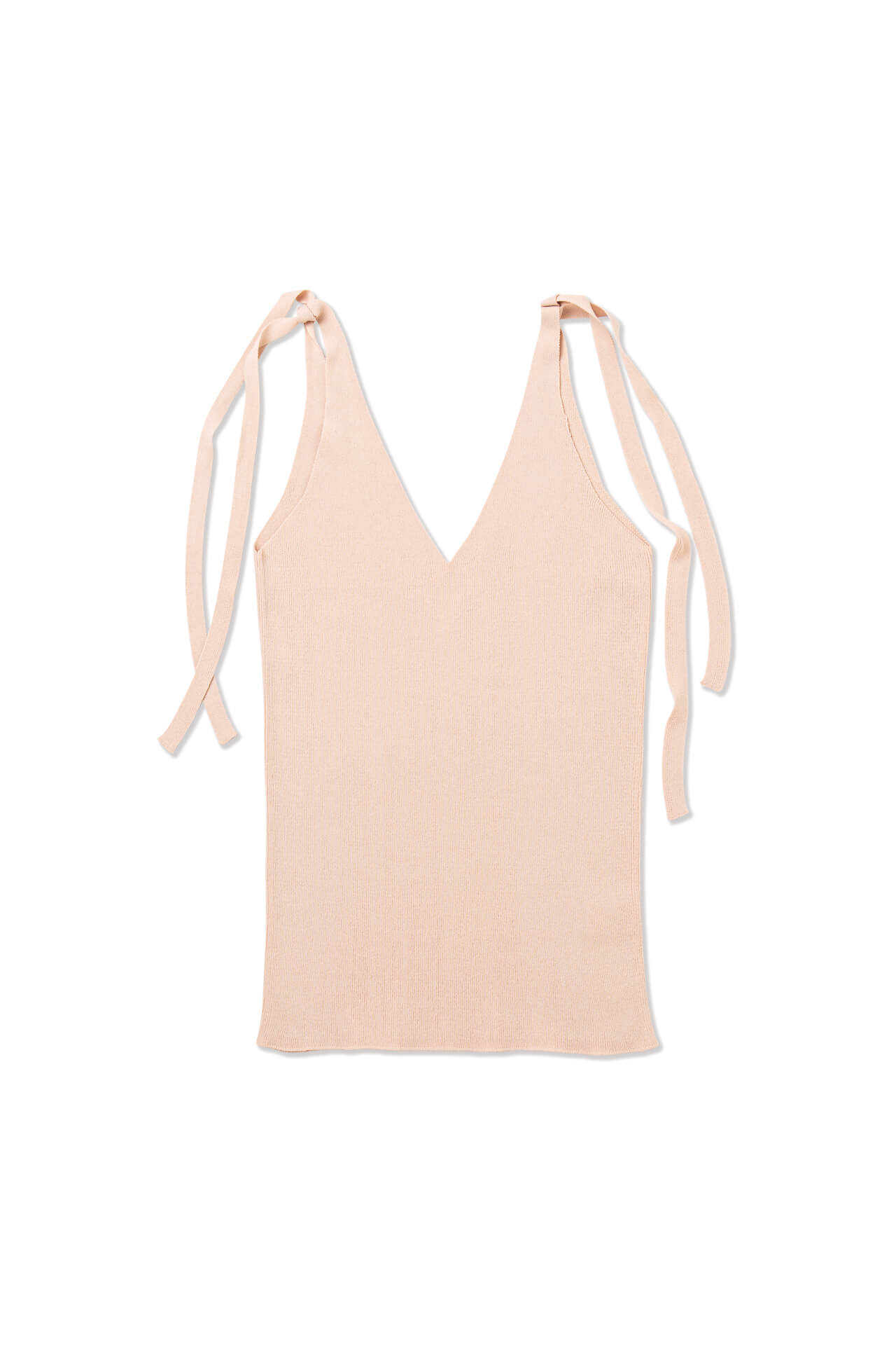 Knitted Strap Top