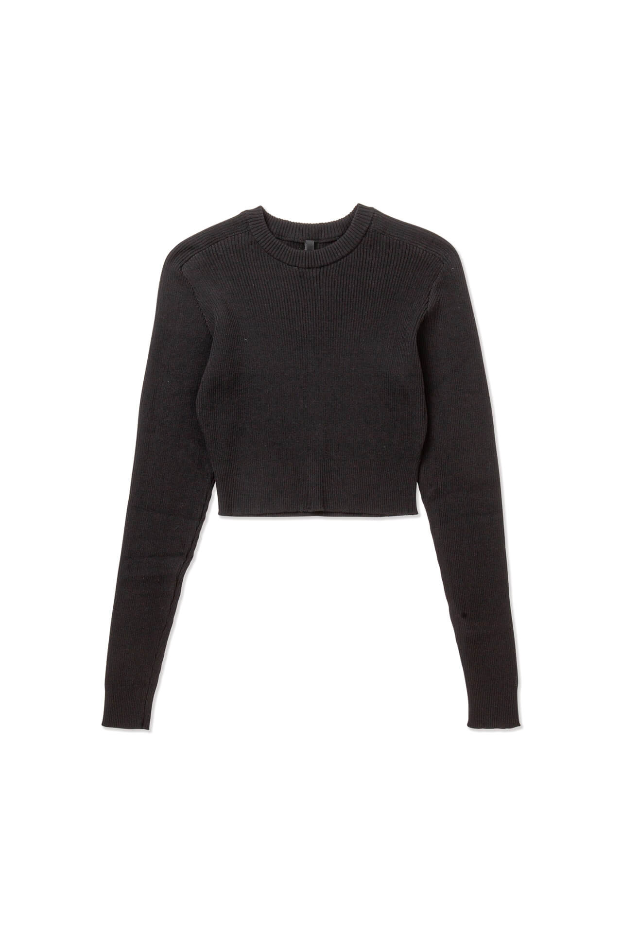 Knitted Cropped Pull