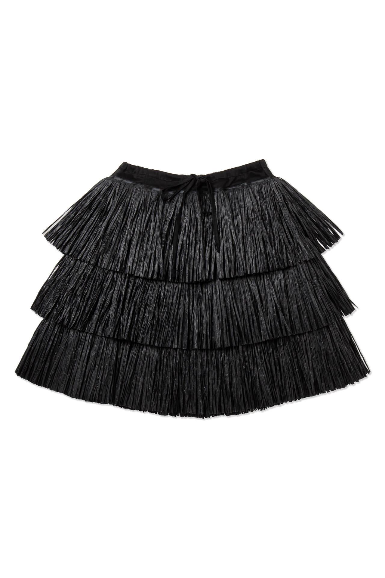 Short Raffia Skirt